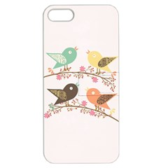 Four Birds Apple iPhone 5 Hardshell Case with Stand