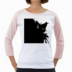 Abstraction Girly Raglans