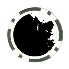 Abstraction Poker Chip Card Guard