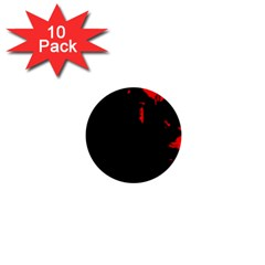 Abstraction 1  Mini Buttons (10 pack)