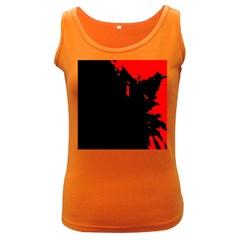 Abstraction Women s Dark Tank Top