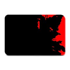 Abstraction Plate Mats