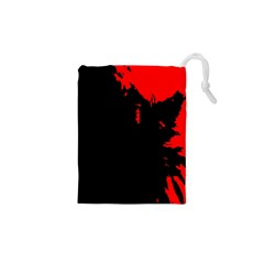 Abstraction Drawstring Pouches (XS)
