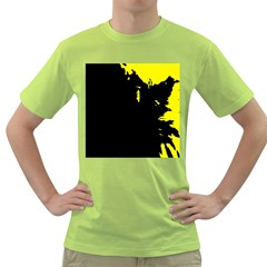 Abstraction Green T-Shirt