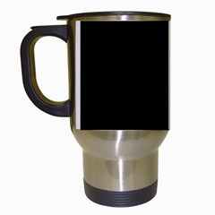 Abstraction Travel Mugs (White)