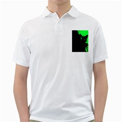 Abstraction Golf Shirts