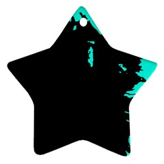 Abstraction Star Ornament (Two Sides)