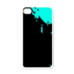 Abstraction Apple iPhone 4 Case (White)