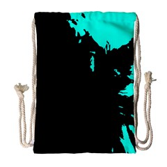 Abstraction Drawstring Bag (Large)