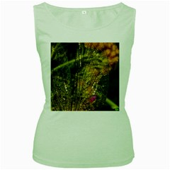 Dragonfly Dragonfly Wing Insect Women s Green Tank Top