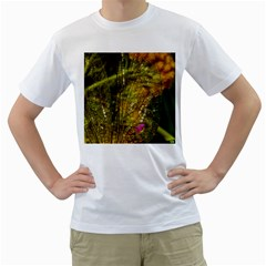 Dragonfly Dragonfly Wing Insect Men s T-Shirt (White) (Two Sided)