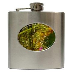 Dragonfly Dragonfly Wing Insect Hip Flask (6 Oz)