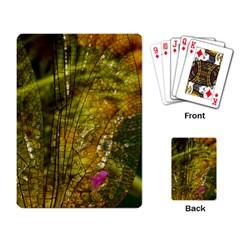 Dragonfly Dragonfly Wing Insect Playing Card