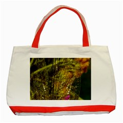 Dragonfly Dragonfly Wing Insect Classic Tote Bag (red)