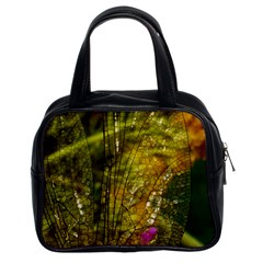 Dragonfly Dragonfly Wing Insect Classic Handbags (2 Sides)