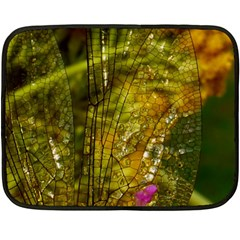 Dragonfly Dragonfly Wing Insect Fleece Blanket (mini)