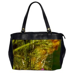 Dragonfly Dragonfly Wing Insect Office Handbags (2 Sides)