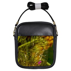 Dragonfly Dragonfly Wing Insect Girls Sling Bags