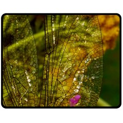 Dragonfly Dragonfly Wing Insect Fleece Blanket (Medium)