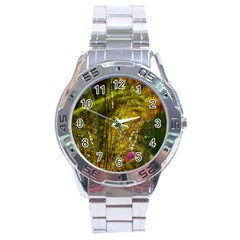 Dragonfly Dragonfly Wing Insect Stainless Steel Analogue Watch