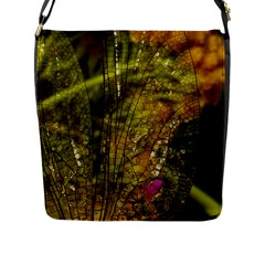 Dragonfly Dragonfly Wing Insect Flap Messenger Bag (l)