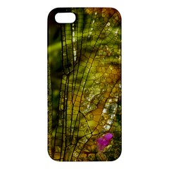 Dragonfly Dragonfly Wing Insect Iphone 5s/ Se Premium Hardshell Case
