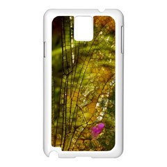 Dragonfly Dragonfly Wing Insect Samsung Galaxy Note 3 N9005 Case (white)