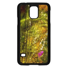 Dragonfly Dragonfly Wing Insect Samsung Galaxy S5 Case (black)