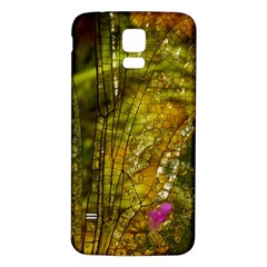 Dragonfly Dragonfly Wing Insect Samsung Galaxy S5 Back Case (white)