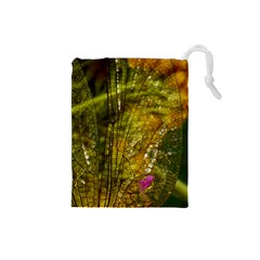 Dragonfly Dragonfly Wing Insect Drawstring Pouches (small)