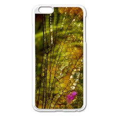 Dragonfly Dragonfly Wing Insect Apple Iphone 6 Plus/6s Plus Enamel White Case
