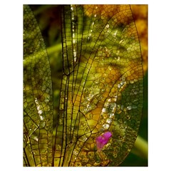 Dragonfly Dragonfly Wing Insect Drawstring Bag (large)