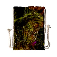 Dragonfly Dragonfly Wing Insect Drawstring Bag (small)