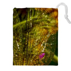 Dragonfly Dragonfly Wing Insect Drawstring Pouches (xxl)