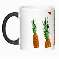 Pineapple Print Polygonal Pattern Morph Mugs