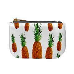 Pineapple Print Polygonal Pattern Mini Coin Purses