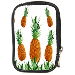 Pineapple Print Polygonal Pattern Compact Camera Cases
