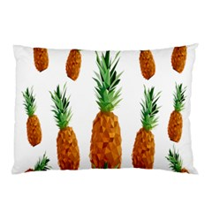 Pineapple Print Polygonal Pattern Pillow Case (two Sides)