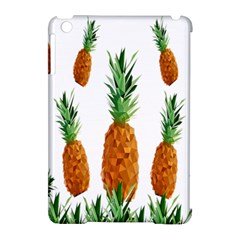 Pineapple Print Polygonal Pattern Apple iPad Mini Hardshell Case (Compatible with Smart Cover)