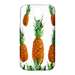 Pineapple Print Polygonal Pattern Samsung Galaxy S4 Classic Hardshell Case (pc+silicone)