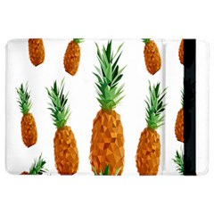Pineapple Print Polygonal Pattern iPad Air 2 Flip