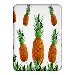 Pineapple Print Polygonal Pattern Samsung Galaxy Tab 4 (10 1 ) Hardshell Case