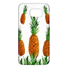 Pineapple Print Polygonal Pattern Galaxy S6