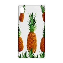 Pineapple Print Polygonal Pattern Sony Xperia Z3+