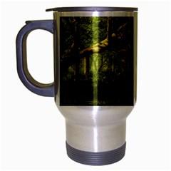 Red Deer Deer Roe Deer Antler Travel Mug (silver Gray)