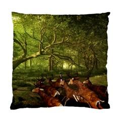 Red Deer Deer Roe Deer Antler Standard Cushion Case (one Side)