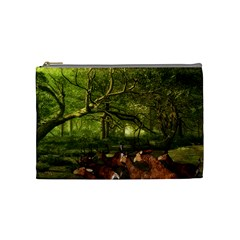 Red Deer Deer Roe Deer Antler Cosmetic Bag (medium)