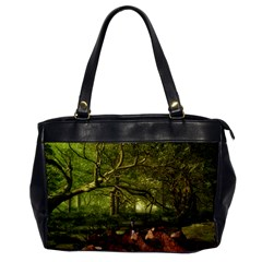 Red Deer Deer Roe Deer Antler Office Handbags