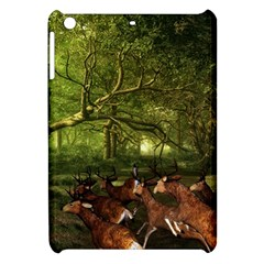Red Deer Deer Roe Deer Antler Apple Ipad Mini Hardshell Case
