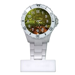Red Deer Deer Roe Deer Antler Plastic Nurses Watch